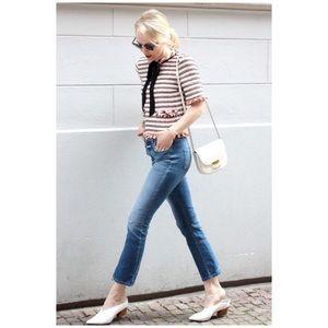 {CLOSED Denim} Rose High Waist Crop Flare Jeans
